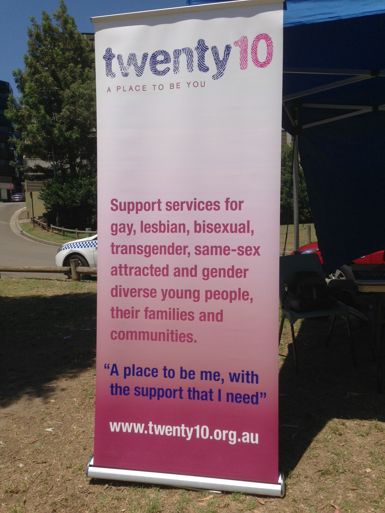 "The banner was deemed ""offensive"" by the Lord Mayor's office."