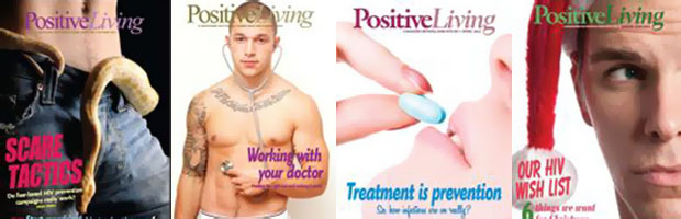Positive iving banner