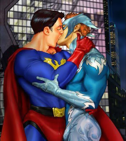 Superheroes Gay 420x470