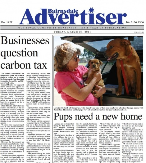 Bairnsdale_Advertiser_150311_front_cover