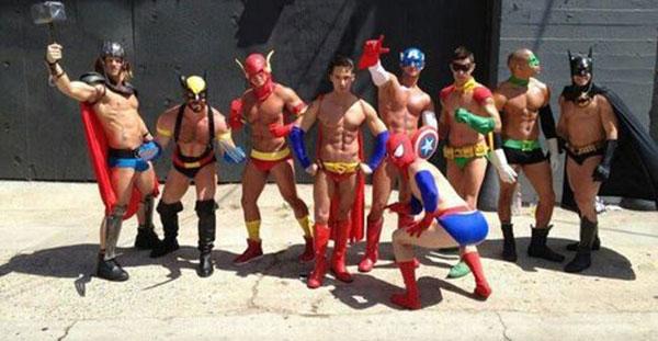 Superheroes Gay 75