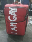 IamGay Luggage after Qantas flight