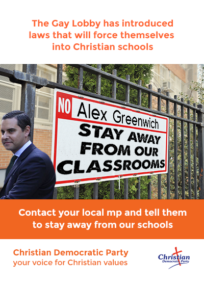 "Alex Greenwich ""gay lobby meme"
