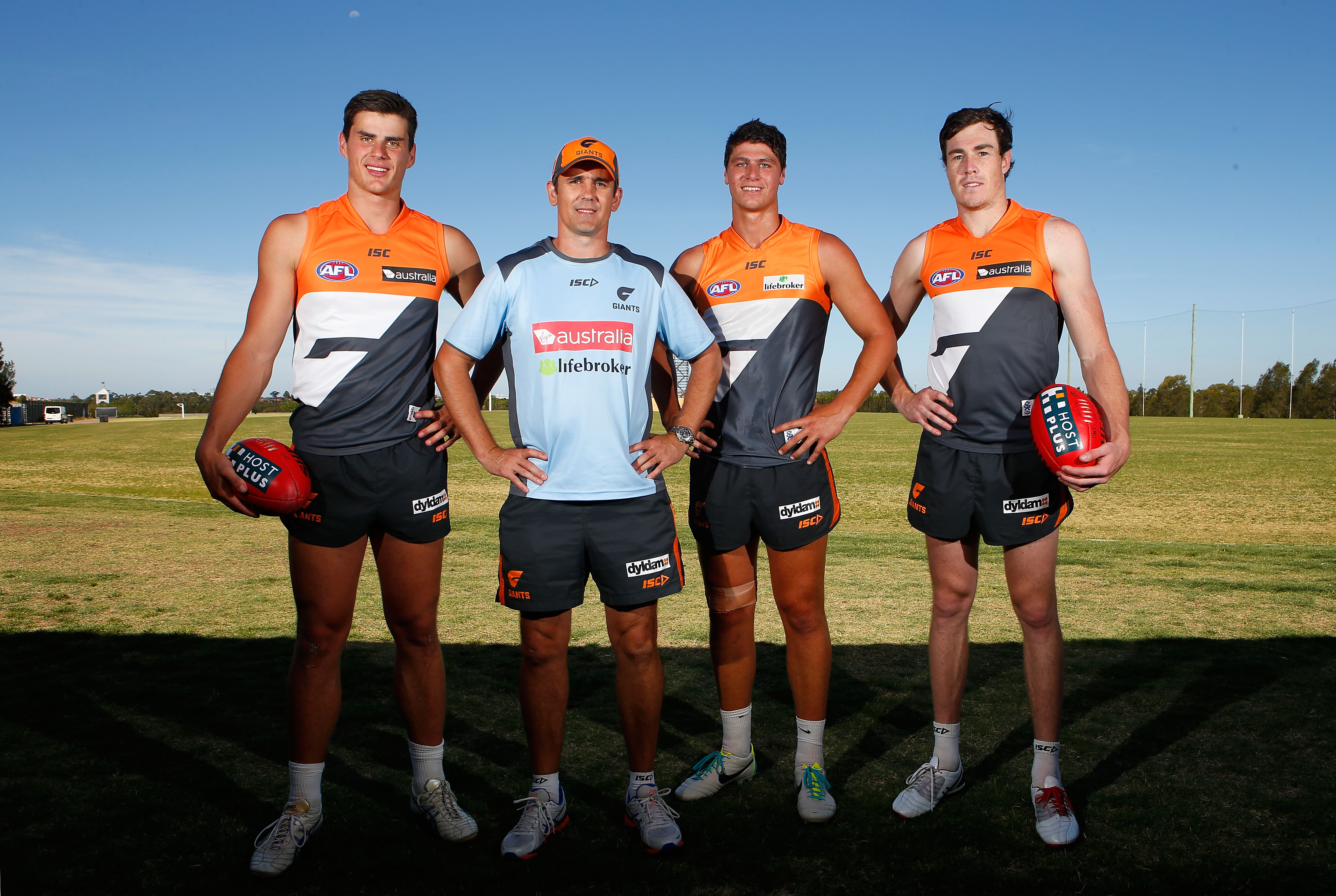 AFL 2013 Training - GWS Giants 111213