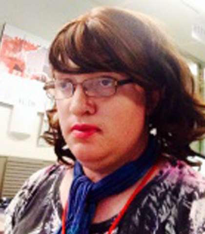 Trans* lesbian and journalist Kate Doak