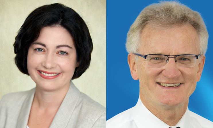 Terri Butler and Bill Glasson are both running for the federal seat of Griffith in the February 8 by-election