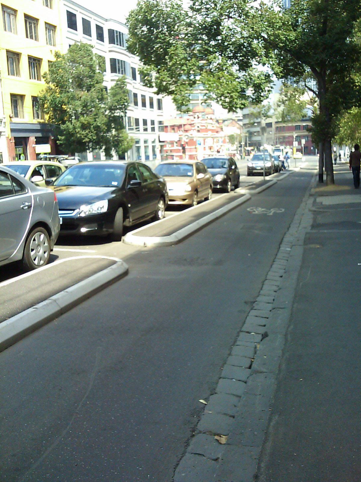 Copenhagen Style Bike Lane