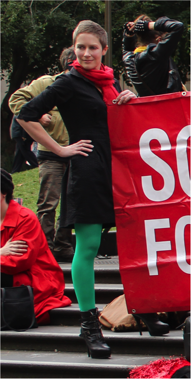 Sex Worker Advocate Jane Green from the Scarlet Alliance