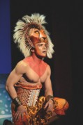 he Lion King, Disney, Australian tour, opening night December 12 2013 with Simba