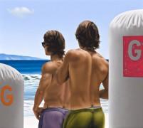 Ross Watson's Two Surfers