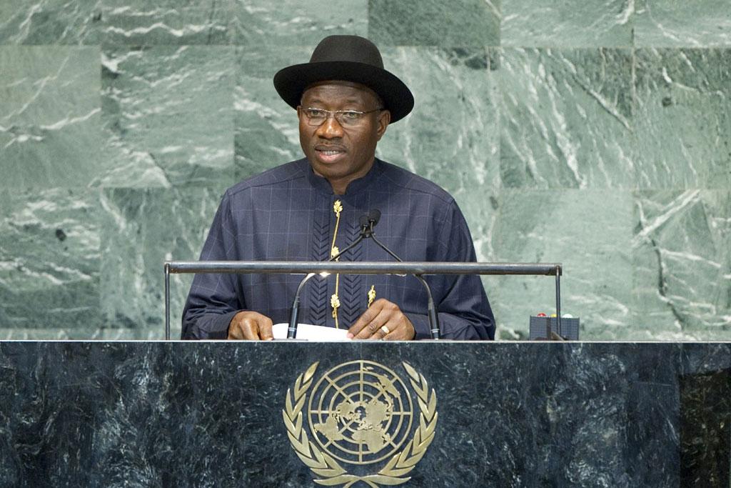 Nigerian President Goodluck Jonothan