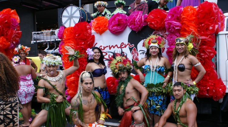 Carmen Rupe Trust 2013 Mardi Gras float