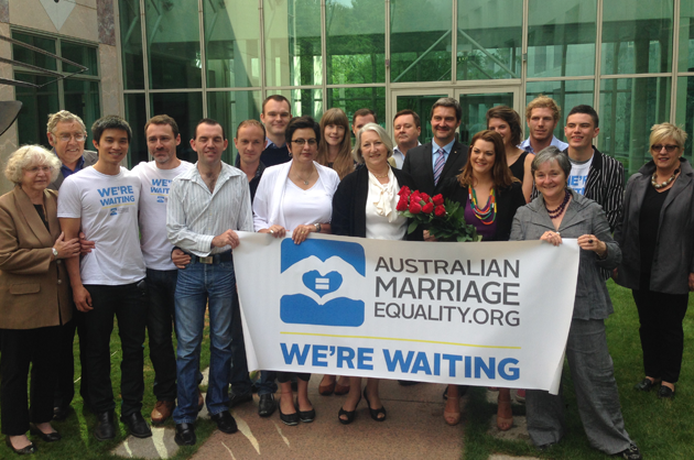 We're Waiting Australian Marriage Equality Launch