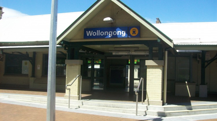 Wollongong Railway Station