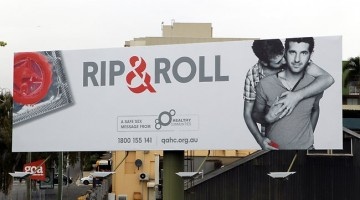 Rip and Roll Billboard featuring  Michael James
