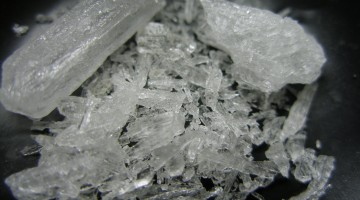 Crystal Meth. Source Wikipedia used under creative commons license: