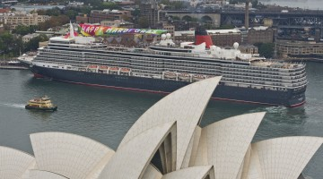 Cunard's Queen Elizabeth and the Opera House