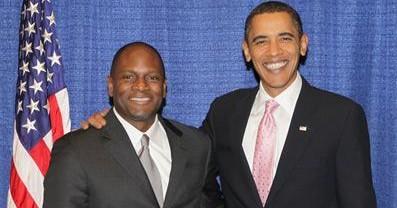 Douglas M. Brooks President Barack Obama-x400 2
