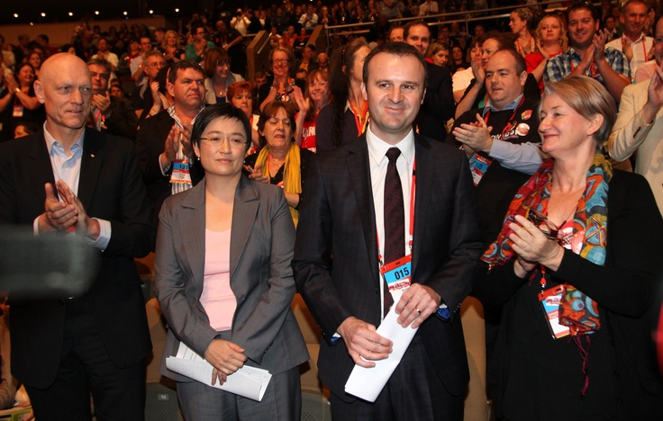 Andrew Barr and Penny Wong