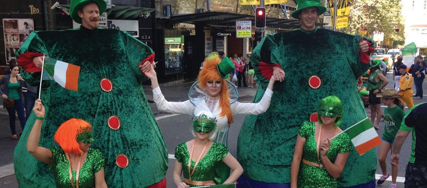 St Patrick's Day Sydney