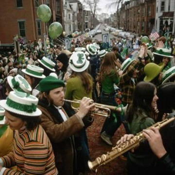 St Patrick's Day Boston