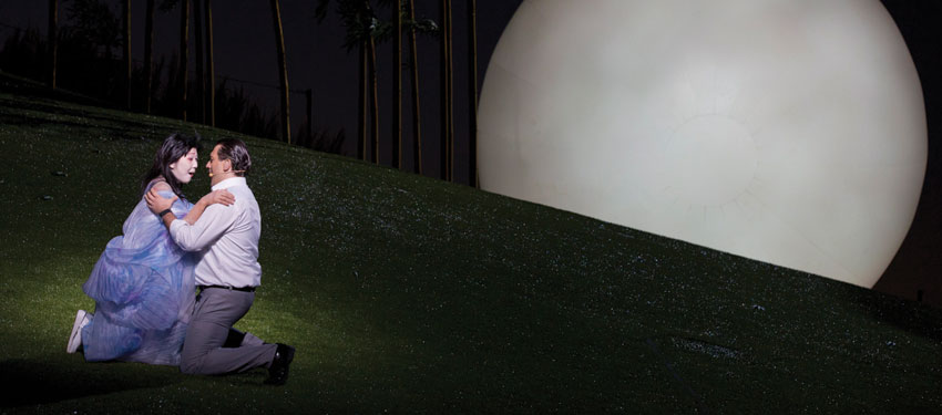 A scene from Madama Butterfly (Photo: James Morgan)
