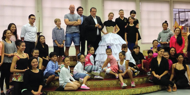 King and I cast