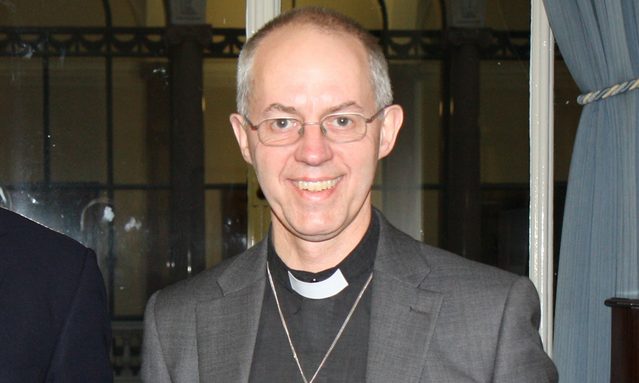 Justin Welby Archbishop of Cantebury