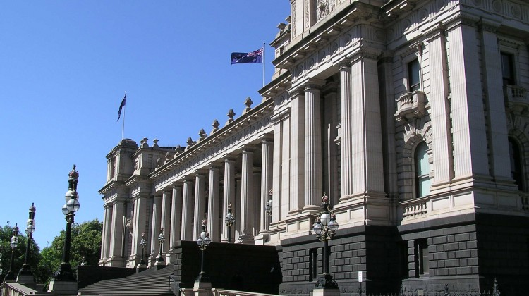 Parliament House of Victoria. Source Wikipedia Creative Commons