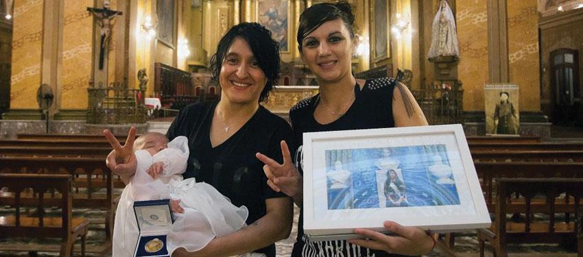 Argentina president godmother