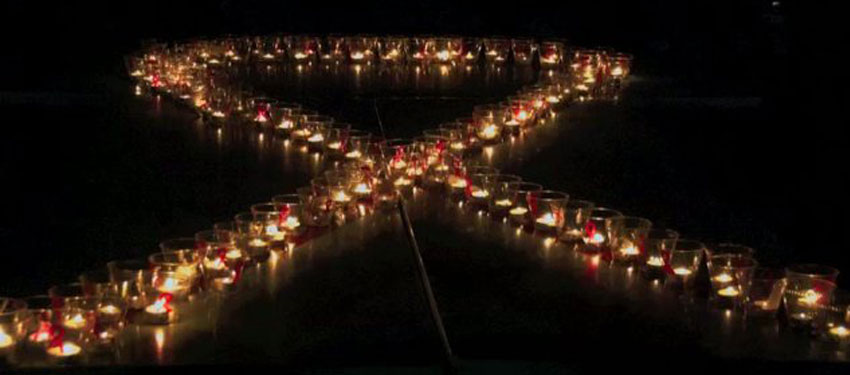 candlelight memorial AIDS