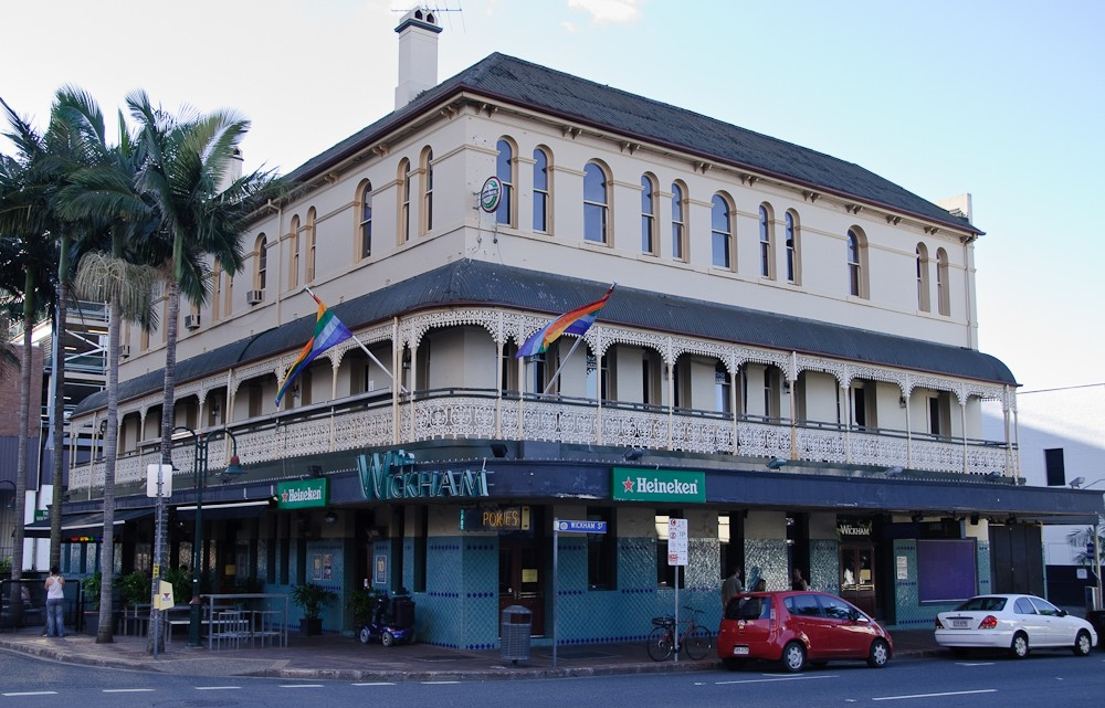 hotel wickham Brisbane