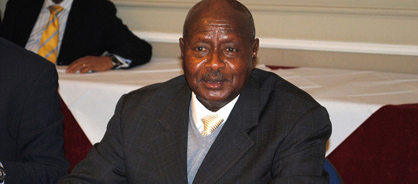 Ugandan President Yoweri Museveni via Chatham House's Flickr account