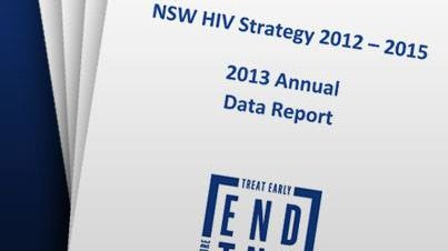HIV data report