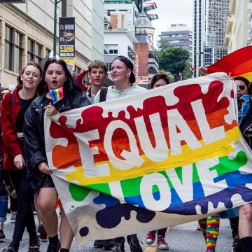 Equal Love rally Brisbane 2014 (Brendan Burke)