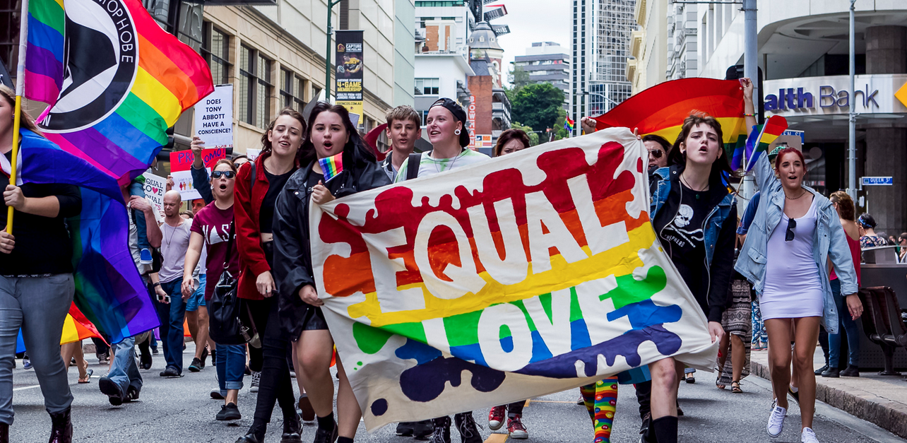Equal Love rally Brisbane 2014 (Brendan Burke)