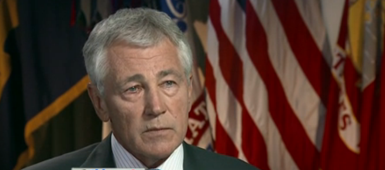 Chuck Hagel (source: ABC News via YouTube)