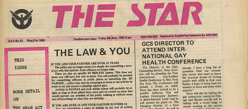 Star Observer; May 31, 1984