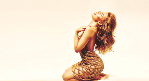 Kylie Minogue (Photographer: William Baker; Star Observer)