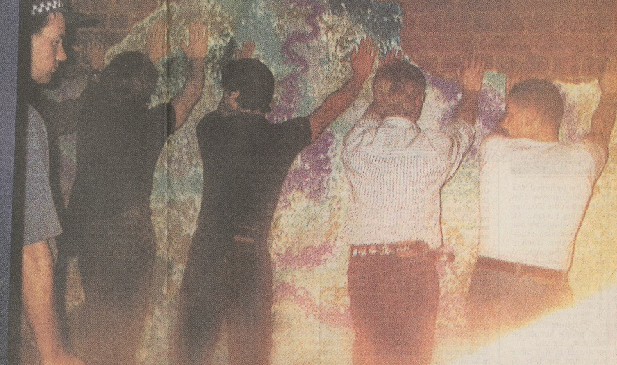 Tasty raid Melbourne 1994