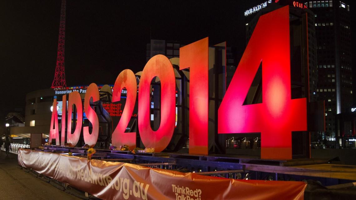 AIDS 2014 Melbourne. (Photo: Rod Spark)