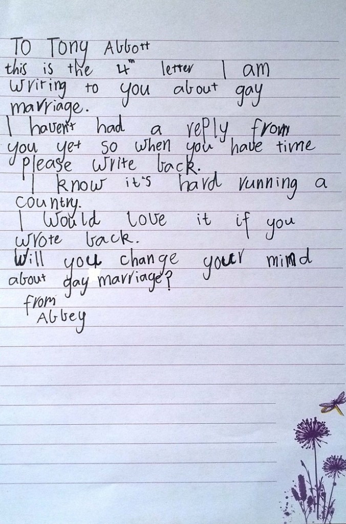 Abbey letter 4