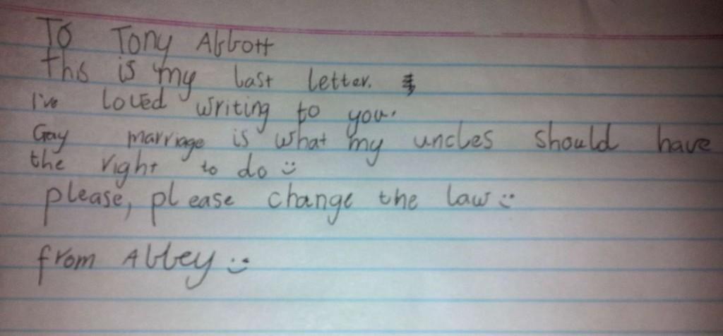 Abbey letter 7