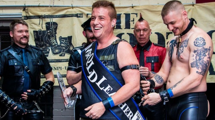 Mr Qld Leather maximus queensland
