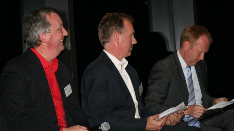 Martin Foley, Clem Newton-Brown and Greg Barber