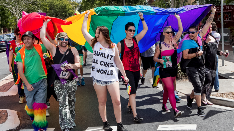 Brisbane Pride 2014 (Photo: Brendan Burke; Star Observer)