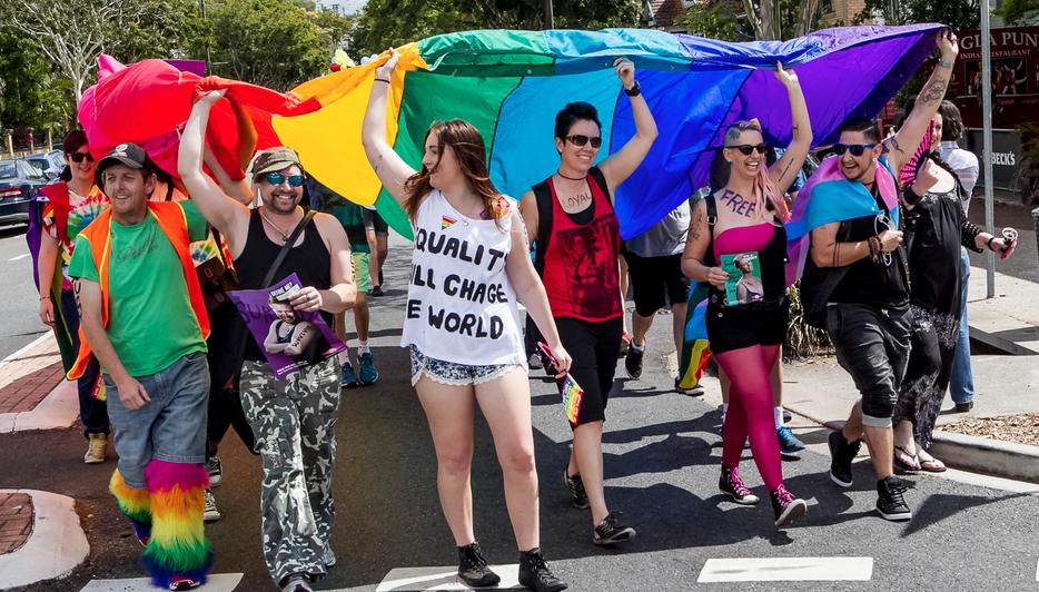 Brisbane Pride 2014 (Photo: Brendan Burke; Star Observer)