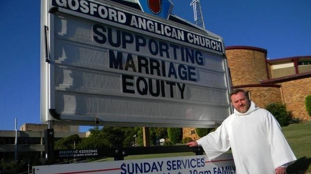 Gosford Anglican Church Father Fr Rod Bower