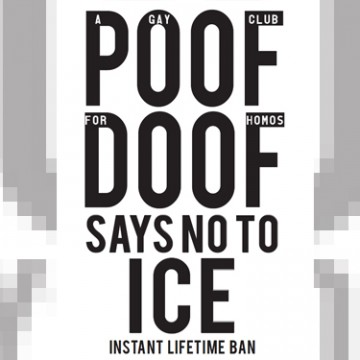 poof doof say no to ice
