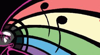 music rainbow